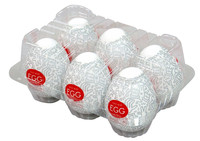 TENGA Keith Haring - Egg Party Variety (6 db) kép
